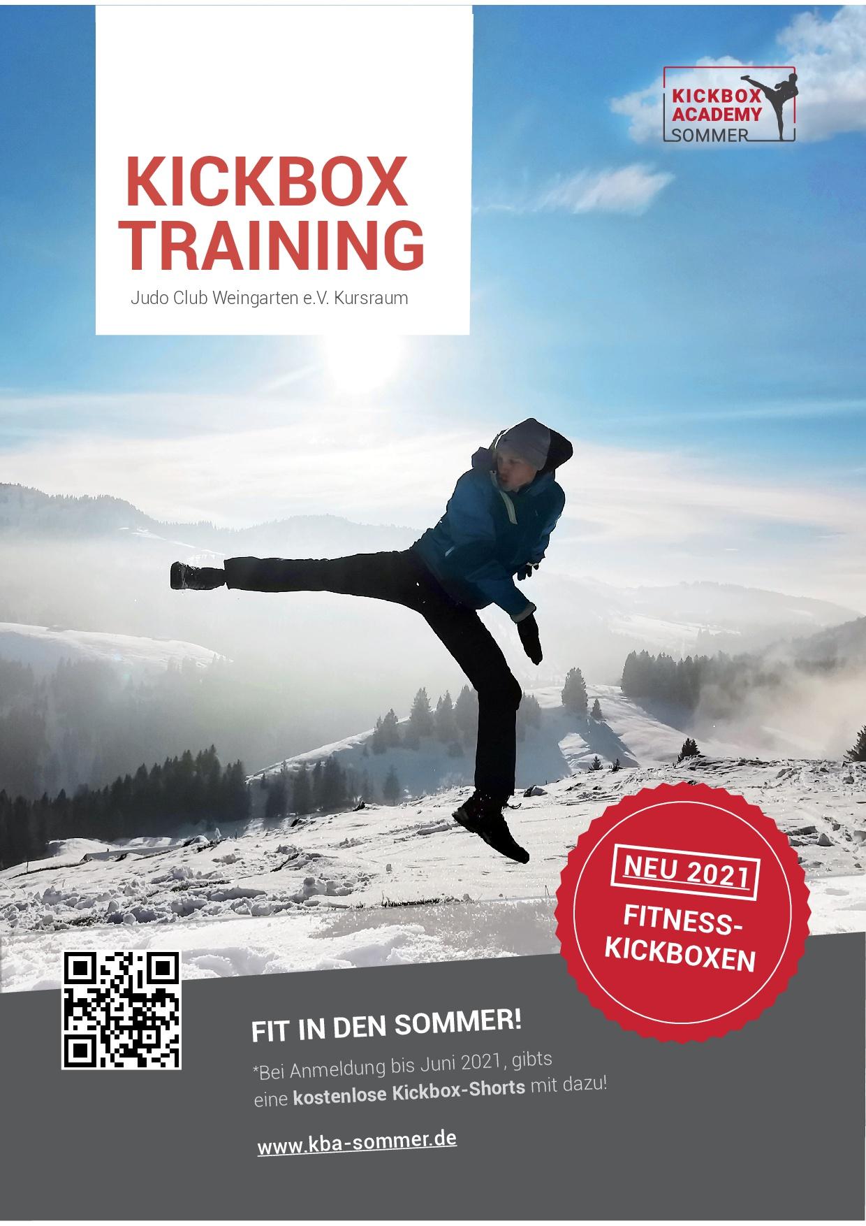 Flyer_Kickbox Academy Sommer